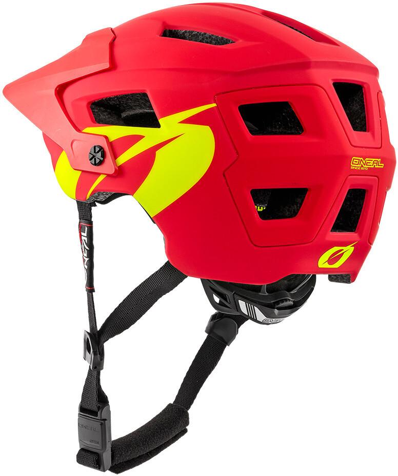 8245d09aab5ec ONeal Defender 2.0 casco per bici rosso su Bikester